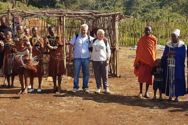 Maasai and Datoga dance
