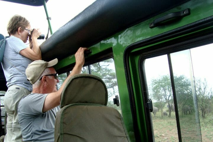 Clients in game drive