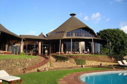 Hotel in Ngorongoro crater